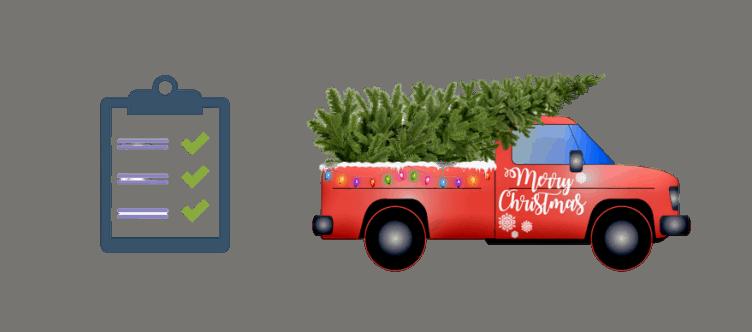 Weihnachtsbaum Miete Ablauf